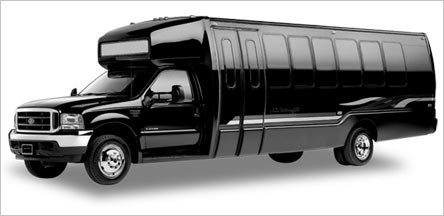 28 Passenger Party Bus Exterior Belvedere
