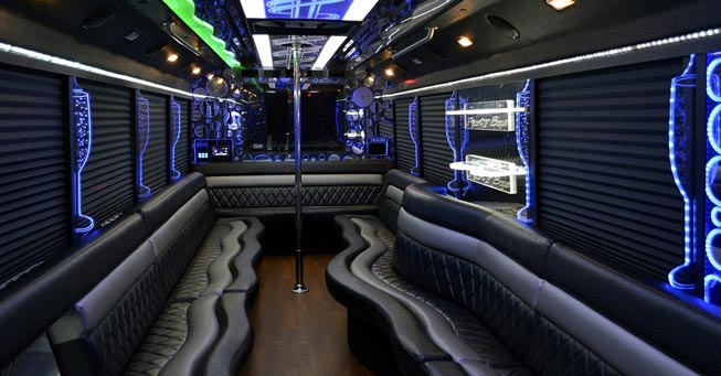 Belvedere 28 Passenger Party Bus