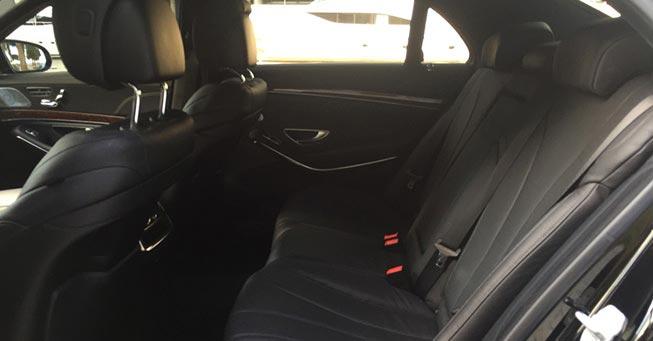 Belvedere Mercedes Benz S550 Rental