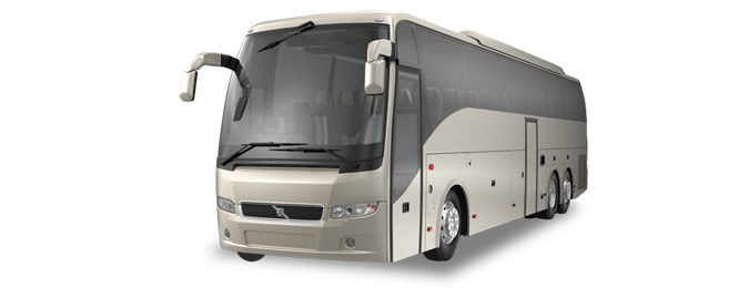 Belvedere 40 Passenger Party Bus Exterior