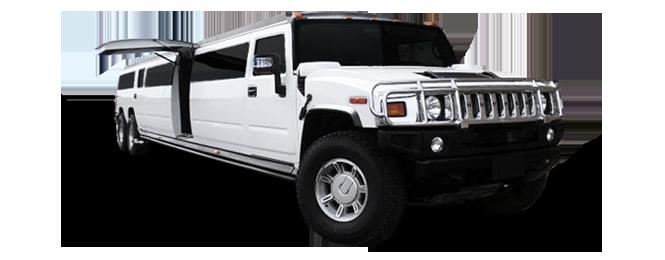 Belvedere Hummer Limousine Exterior