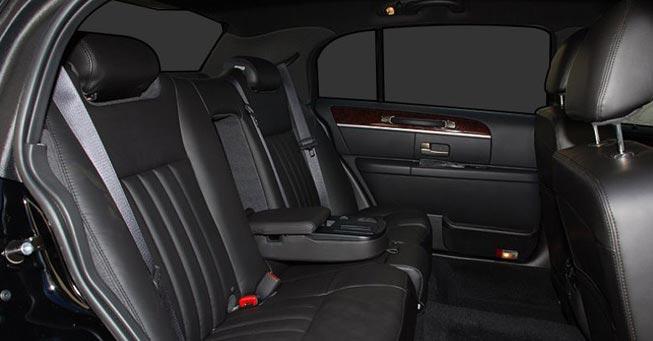 Belvedere Lincoln Town Car Interior
