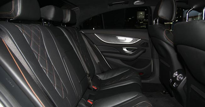 Belvedere Mercedes CLS 63 AMG Interior