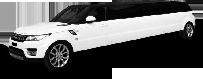 Belvedere Range Rover Stretch Limo Exterior