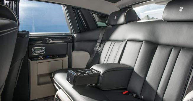 Belvedere Rolls Royce Phantom Interior